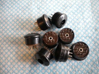B9A Plugs for Codar or Quad Amplifiers