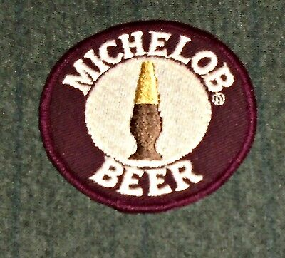 VINTAGE ORIGINAL 1960's Michelob Beer Route Drivers Shirt Patch