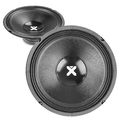 """2x Skytec SPSL10 10"""" Spare Replacement PA Speaker Chassis Drivers 1000W UK Stock"""