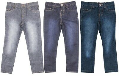 Boys Denim Straight Leg Classic Fit Fashion Jeans Toddler 2 to 6 Years