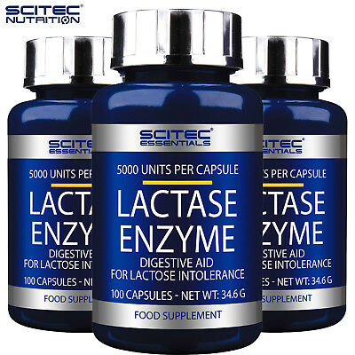 LACTASE ENZYME 100-300 Fast Acting Lactose Intolerance Dairy Digestive Supplemet