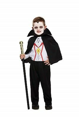 Halloween Toddler Vampire Fancy Dress Up Costume Outfit Party Age 3 years NEW