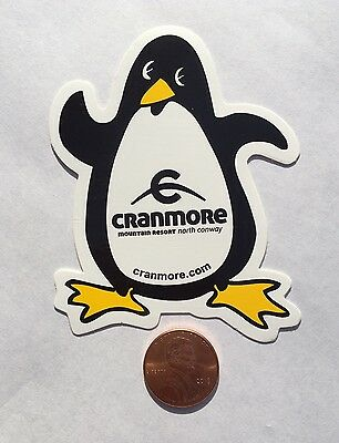 Cranmore Mountain Resort North Conway Sticker Decal Snow Ski Snowboard Penguin