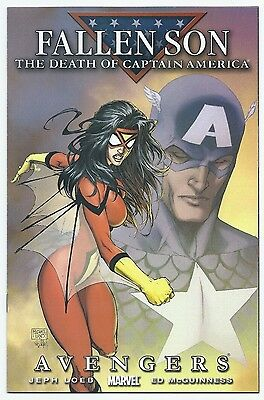 Fallen Son: Death of Captain America MICHAEL TURNER variant. NM