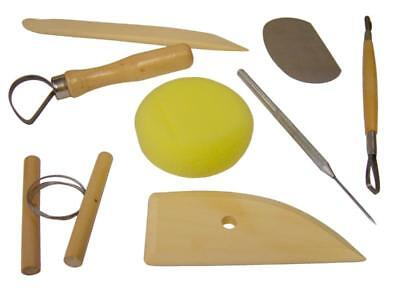 8 Clay Sculpting Tools Ideal For Art Projects Pottery Molding Carving Kit Sets