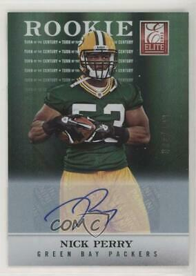 2012 Elite Turn of the Century Rookie Signatures Autographed 124 Nick Perry Auto