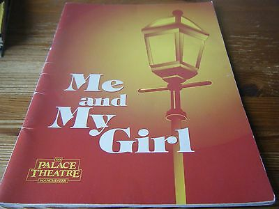1994   Theatre  Programme   Me And My Girl  - At The Palace Theatre  Manchester