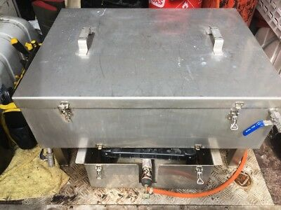 Oven Cleaning Dip Tank , Gas bottle and More