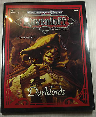 AD&D - RAVENLOFT - Darklords -OVP-  -Shrink wrapped -