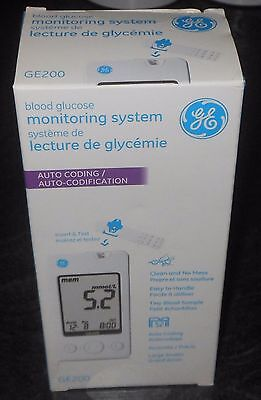 GE 200 Blood Glucose Monitoring System