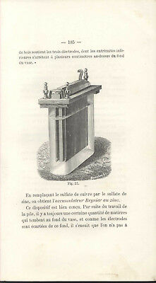 Science Physics Electricity Batteries Accumulators 1885
