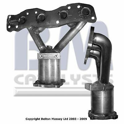 Bm91465H Type Approved Catalytic Converter / Cat  For Fiat Sedici