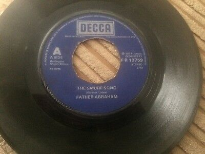 """Father Abraham. The Smurf Song, 7"""" Single"""