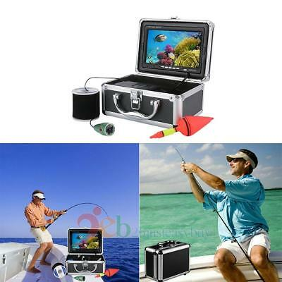 30m Underwater Camera 7/9/10'' HD Visual Fishing System LCD Screen IR/LED Light