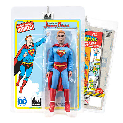 DC Comics Retro 8 Inch Action Figures: Jimmy Olsen in Superman Outfit