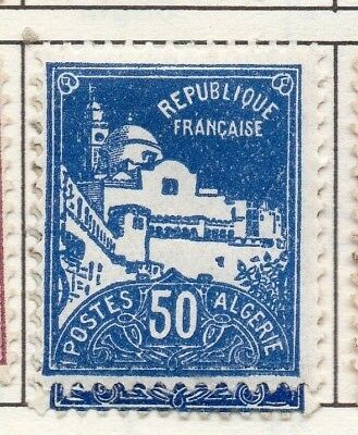 Algeria 1926 Early Issue Fine Mint Hinged 50c. 170473