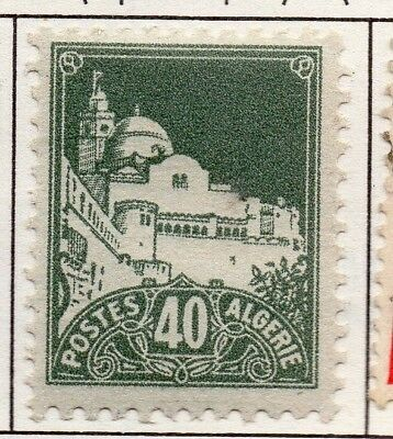 Algeria 1937-43 Early Issue Fine Mint Hinged 40c. 170549