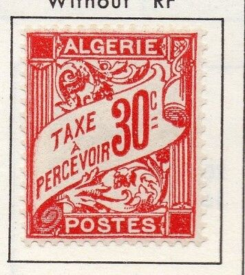 Algeria 1937-43 Early Issue Fine Mint Hinged 30c. 170551