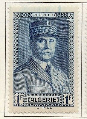 Algeria 1940s Early Issue Fine Mint Hinged 1F. 170552