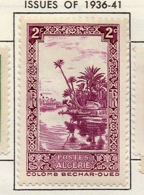Algeria 1936-41 Early Issue Fine Mint Hinged 2c. 170557