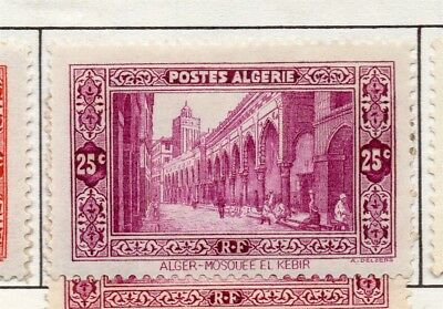 Algeria 1936-41 Early Issue Fine Mint Hinged 25c. 170561