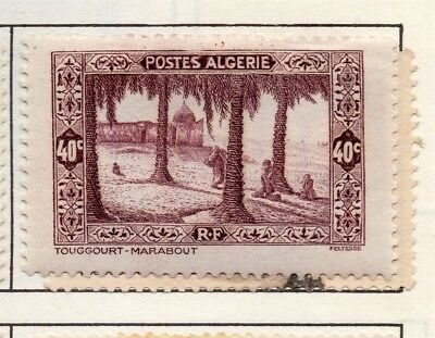 Algeria 1936-41 Early Issue Fine Mint Hinged 40c. 170563