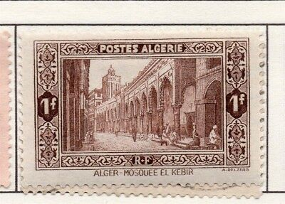 Algeria 1936-41 Early Issue Fine Mint Hinged 1F. 170568