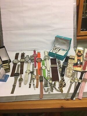Job Lot Of Mens And Womens Watches Fcuk Ben Sherman Marks Spencer Pulsar Casio