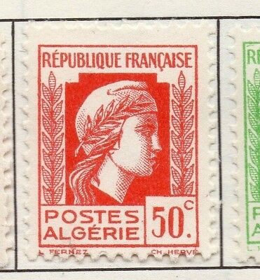 Algeria 1944 Early Issue Fine Mint Hinged 50c. 170604