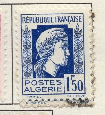 Algeria 1944 Early Issue Fine Mint Hinged 1.50F. 170608