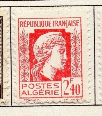 Algeria 1944 Early Issue Fine Mint Hinged 2.40F. 170611