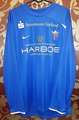 "Nike Football long sleeve jersey ""FC Vestsjaelland"", Size XL (GB 45 /47)"