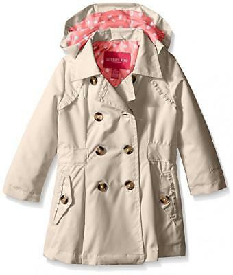 London Fog Toddler Girls Lightweight Khaki Trench Coat Size 2T 3T 4T