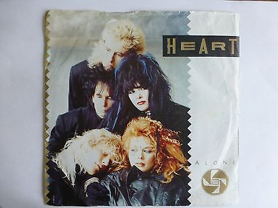 "Heart - Alone, 1987 7"" Vinyl Single. Cl 448"