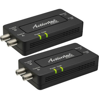 Actiontec Bonded MoCA 2.0 Ethernet to Coax Adapter, 2 Pack