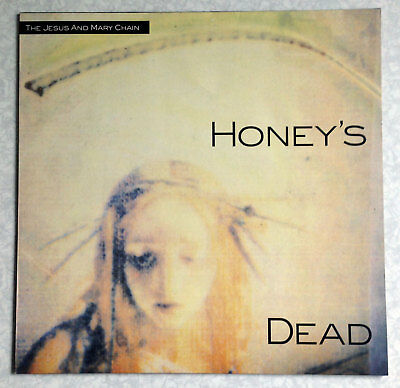 "THE JESUS & MARY CHAIN ""HONEY'S DEAD"" VINYL LP RECORD (1st PRESS) + '94 SETLIST!"