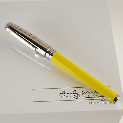 S.T. Dupont Andy Warhol Limited Edition Marilyn Monroe Olympio Fountain Pen