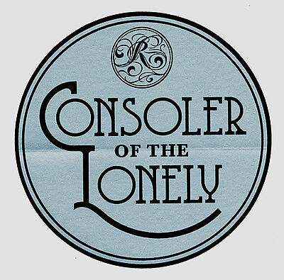 The Raconteurs (Jack White) Consolers of the Lonely RARE promo sticker '08