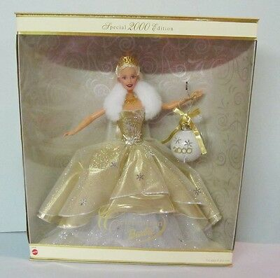 Never Removed From Box 2000 Celebration Barbie Doll