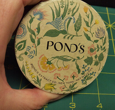 Vintage Pond's Powder - Ponds Dreamflower Powder Dark Rachel full container