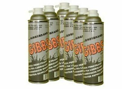 Gibbs Brand Lubricantfor Cleaning Metal & Protectant Oil 12 Pack 12oz by Gibbs