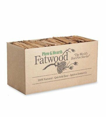 Fatwood Fire Starter by Plow & Hearth Non Toxic All Natural Eco-Friendly & Safe