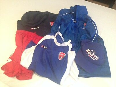 Easts Football Club Soccer Outfit Hoody Shorts Tshirt Caps Rainjacket