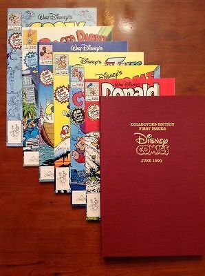 Disney Magazine-Comics-First Edition Collectors Boxed Set - June 1990