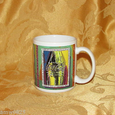 Coca-Cola Coffee Mug Dakin 1993 Life Is Not Imagination Coke Soda Collectible