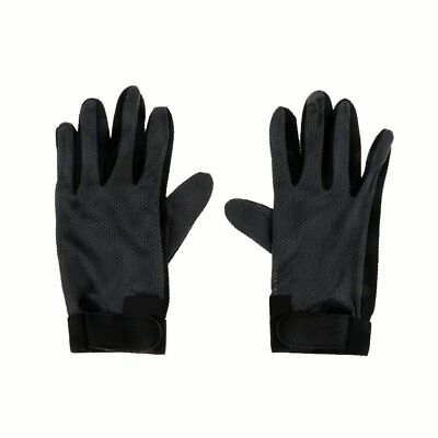 Durable Stretchable Silicone Pimple Palm Horse Riding Equestrian Gloves S/M/L/XL