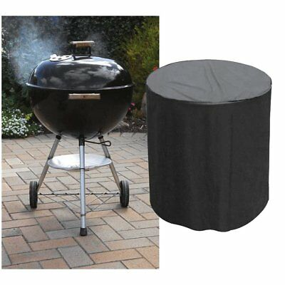 Heavy Duty Waterproof Barbecue Cover for Outdoor Garden Kettle BBQ 76 x 71cm