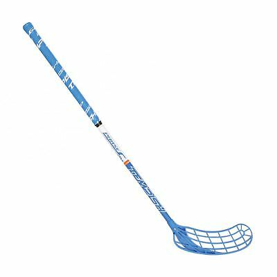 Floorballschläger Phase blau junior, Unihockey Carbon Glasfaser 85cm