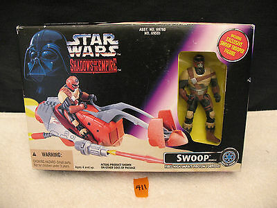 Star Wars Shadows Of The Empire 69591 SWOOP VEHICLE And TROOPER NEW 1996 Kenner