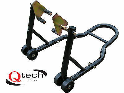 FRONT Fork PADDOCK STAND Motorcycle Motorbike Track Bike Universal Lift